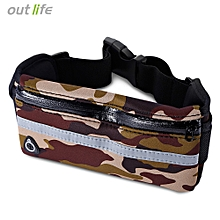 Outlife Water Resistant Anti-theft Marathon Belt Pack - ACU Camouflage