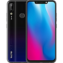 Camon 11 Pro - 6.2'' FHD (6GB, 64GB ROM) Android 8.1 Oreo, 16MP + 5MP Dual Rear,(Dual SIM), 4G - Nebula Black