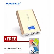 Free gift PN988 PINENG Power Bank PN 988 10000mAh Powerbank BGmall