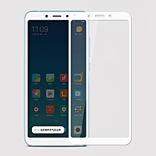 MOFI 9H Surface Hardness 2.5D Arc Edge Full Screen Tempered Glass Film for Xiaomi Redmi 6(White)