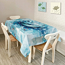 KCASA KC-TC2 American Style Creative Landscape Tablecloth Waterproof Oil Proof Tea Tablecloth Home