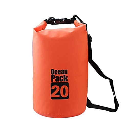 b0e5d0eee501 Generic 20L Nature Hike Outdoor Portable Rafting Dry Bag Sack Swimming  Waterproof Storage Bags Pouch For Canoe Rafting Upstream Sports (Orange)    Best Price ...