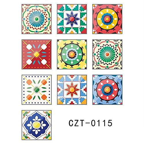 Generic Home Vintage Wall Tiles Stickers Kitchen Self Adhesive