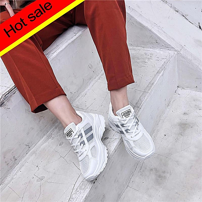 1733cee1f4e Women's Casual Shoes Low To Help Spring And Autumn Classic New Thick-soled Women's  Shoes ...