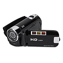 Digital DV Video Camera Full HD 270° Rotation 1080P 16X High Definition Digital Camcorder Video DV Camera (US Black)