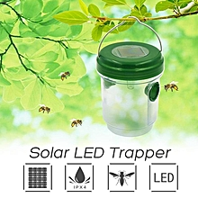 Solar LED Insect Trapper Bee Trapper Waterproof Catching Insect Garden Outdoor