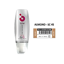 biw biw 4-in-1 Pure Radiance BB Cream, SPF50+, ALMOND SC45 - 40ml