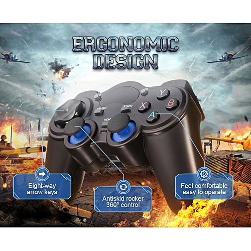 2 4G Wireless Game Controller Game pad Joystick for Android TV Box Tablets  PC WT