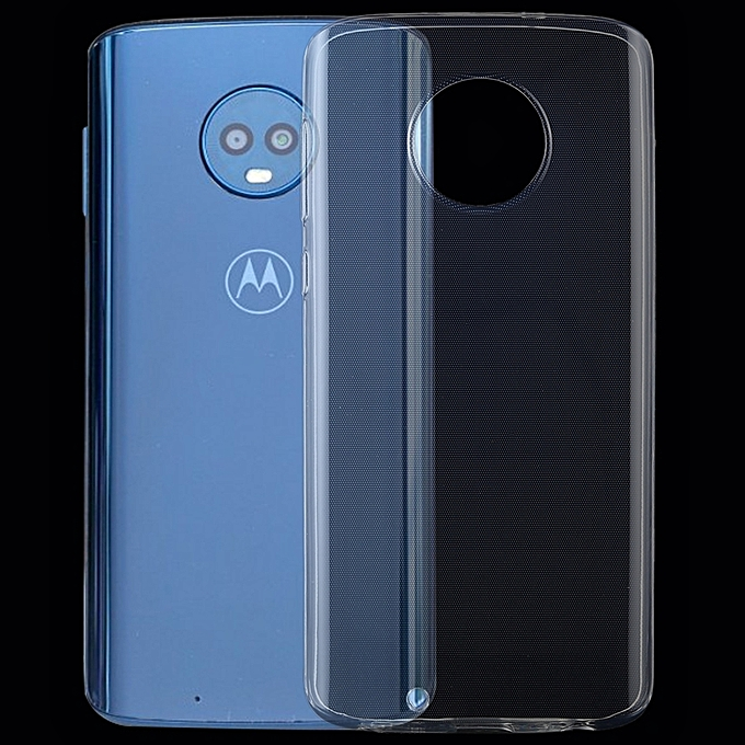 huge selection of c4262 9a9a9 0.75mm Transparent TPU Case for Motorola Moto G6