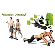 Home Total Body Fitness Gym Revoflex Xtreme Abs Trainer Resistance Exercise Abdominal Trainer