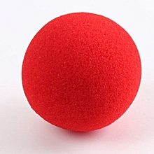 Close-Up Magic Street Trick Soft Sponge Ball Props Clown Nose For Party Comedy