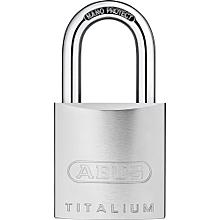 High Security Titalium padlock without cylinder