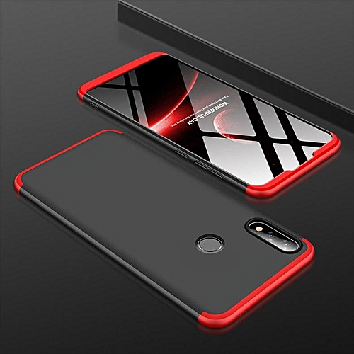 finest selection 7450d 8784e 360 Degree Full Protection Case For ASUS ZenFone Max Pro M2 ZB631KL Cover  Shockproof Case For ZenFone Max Pro M2 (Red&Black)