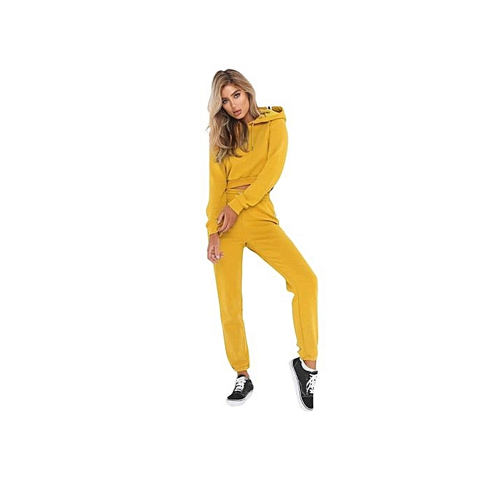 2d3162e34f5 ... discount shop d46bb 57944 2Pcs New Women Ladies Tracksuit Hoodies  Sweatshirt Pants Sets Sport Wear Casual ...