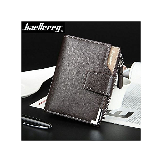 86dedb4c2f12 ... Wallet Men Leather Men Wallets Purse Short Male Clutch Leather Wallet  Mens Money Bag -Black ...