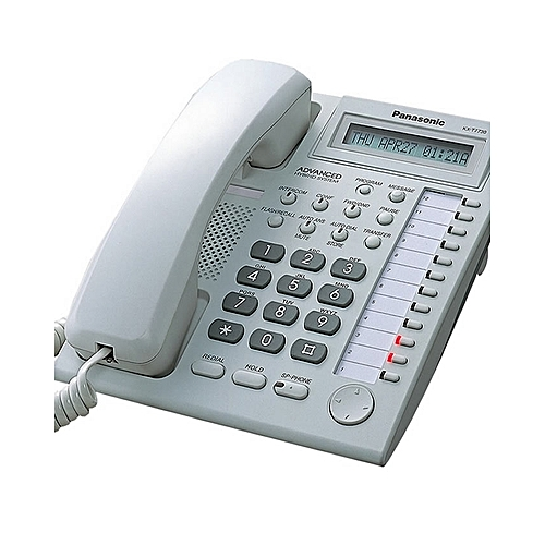 KX-T7730X - Proprietary Phone - White
