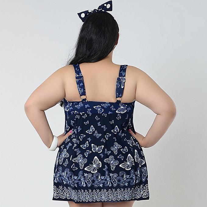 Buy Generic Skirt Plus Size Gather Chest Swimwear Push Up Swimwear