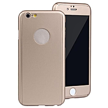 360° Full Body Protective Case+Tempered Screen For IPhone 6 Plus 5.5 Inch GD AI