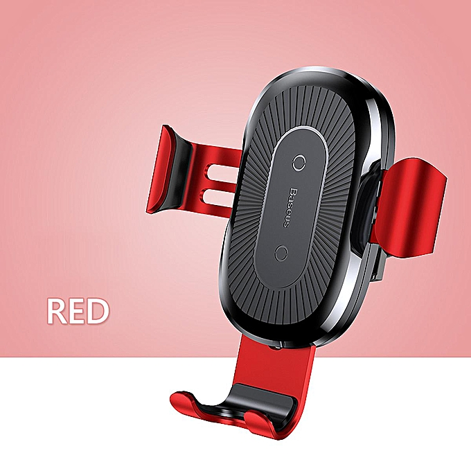 Upgraded 10W T6 Wireless Charger Car Auto Clamping Smart