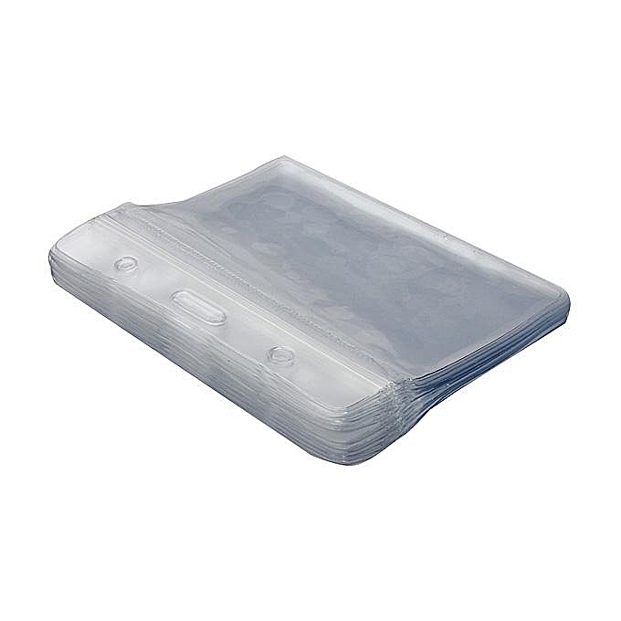 buy generic 20pcs transparent plastic card id badges holder