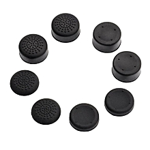 Thumbstick Caps Thumbstick Cover Soft Silicone 8Pcs/Set Gamepad Protector Non Slip Button Cover