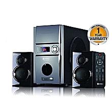 Sayona SHT 1092AC/DC  - Sub-woofer 2.1 Ch Surround Sound Powerful 6000W USB/FM - Black