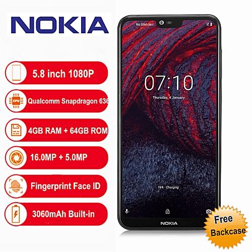 X6 4G 5.8 inch Android 8.1 4GB RAM 64GB ROM 3060mAh - black