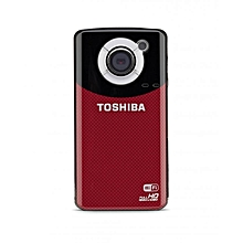 Camileo AIR10 - Full HD WI-FI Camcorder - 4GB SD Card - Red and Black