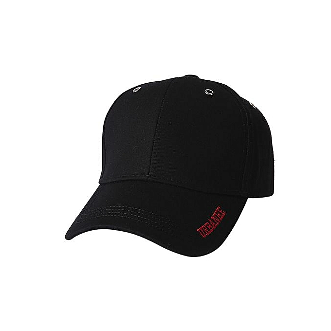 Zetenis Men Women Adjustable Baseball Sunscreen Cap Snapback Hip-Hop Hat  Unisex Cap-Black 828b2f81e75