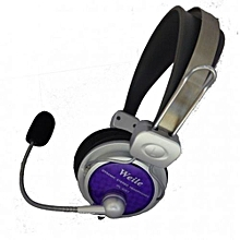 Multimedia Stereo Headphones -Clear Voice Transmission