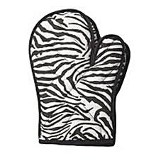 2 PC - Oven Gloves - Zebra Print