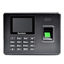 Danmini A3 Self-service Fingerprint Machine with Voice Prompt BLACK EU PLUG