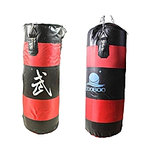 Heavy Boxing Punching Bag 90cm Speed Training Kicking Thai MMA with Chain Hook