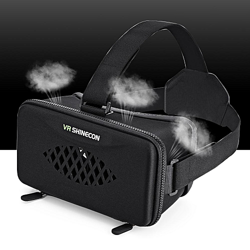 """VR Headset 3D Virtual Reality Glasses Goggle for 4""""-6.0"""" Android iOS Windows Smartphones"""