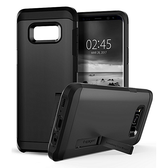 cheaper c879e e4206 Tough Armor Galaxy S8 Plus Case with Reinforced Kickstand and Heavy Duty  Protection and Air Cushion Technology for Samsung Galaxy S8 Plus