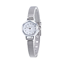 Women's Stainless Steel Analog Watch -Silver