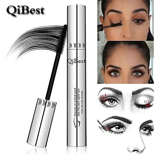 a23a0fe1f29 Generic Professional Waterproof 4D Silk Fiber Lash Mascara 3d Mascara  Makeup Eyelash Extension Black Thick Lengthening Eye Lashes(Black)