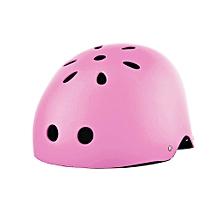 Skateboard Helmet Ventilation Motorcycle Helmet Moto Cycling Pink M