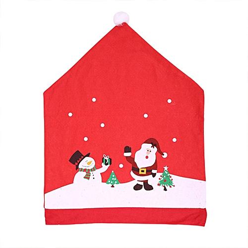 497b5067e799f Allwin Santa Hat Chair Covers Santa Clause Red Hat Chair Back Covers Chair  Covers Red   Best Price