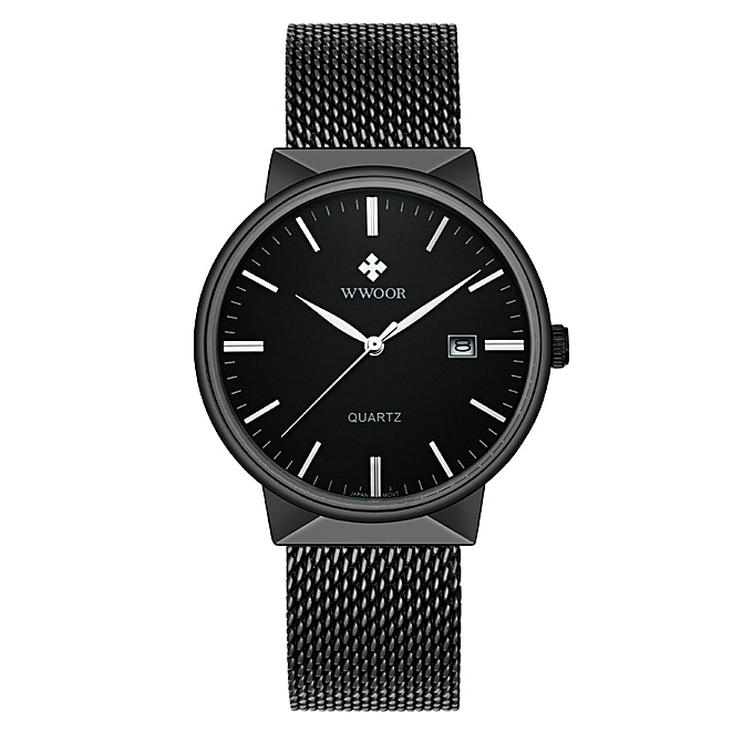 f9a52c20809a Fashion Men s Watches Wwoor Ultra-thin Waterproof Finished Steel for ...