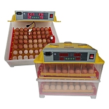Automatic 112 Eggs Incubator,99% Hatch Rate +112 Fertilized Eggs+Candling Torch