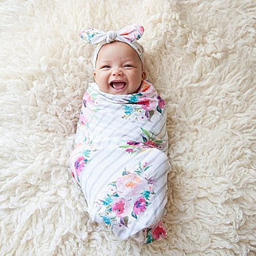 Buy Eissely Newborn Infant Baby Swaddle Blanket Sleeping Swaddle