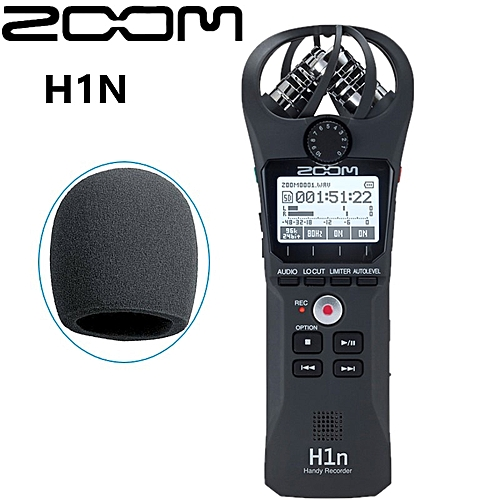 Professional portable ZOOM H1N Handy Recorder Ultra-Portable Digital camera  Audio Recorder Stereo microphone Interview SLR SANNI