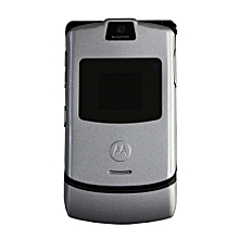 Motorola RAZR V3 Feature Phone - Silver