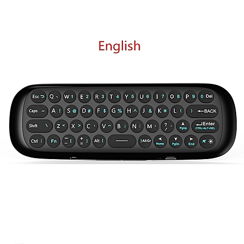 Wechip W1 English Version 2 4GHz Keyboard Mini Fly Air Mouse With IR  Learning Function for TV Box Computer x96 MINI H96 QLANA