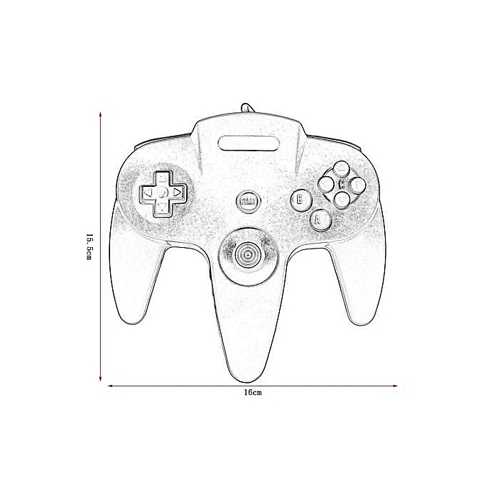 Generic Good Usb Wired Gaming Gamer Gamepad Computer Pc Gaming