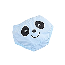 Cute Baby Reusable Washable Infants Cotton Training Pants Panties Boys Girls Underwear - blue
