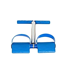 Foot Operated Tummy Trimmer 1 spring  - Blue