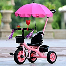 Child's Tricycle Bicycle With Umbrella Male And female Baby Carrier Foam Wheel
