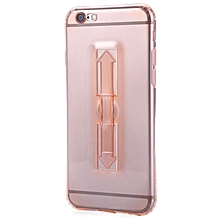 5.5 Inch Phone Cover With Ring Bucket For IPhone 6 Plus / 6s Plus (ROSE GOLD)